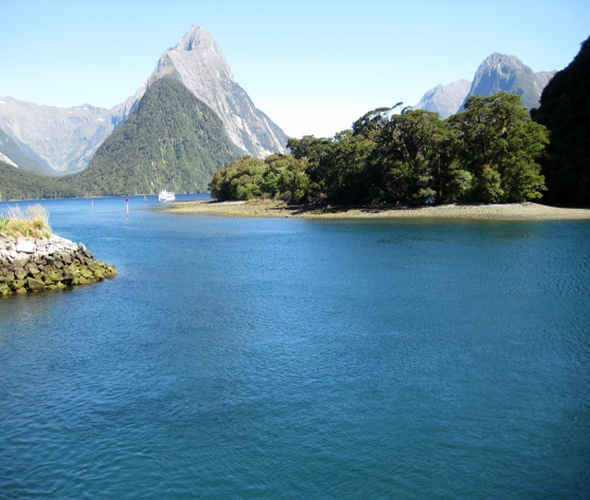 Milford Sound im Fjordland National Park
